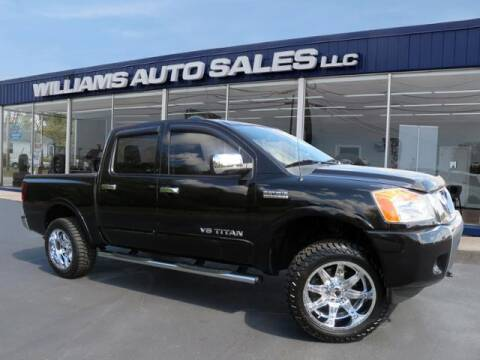 2014 Nissan Titan for sale at Williams Auto Sales, LLC in Cookeville TN