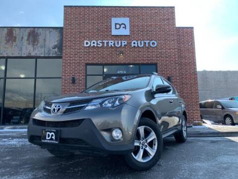 2015 Toyota RAV4 for sale at Dastrup Auto in Lindon UT