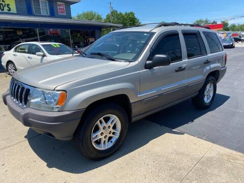 2003 Jeep Grand Cherokee for sale at Wise Investments Auto Sales in Sellersburg IN
