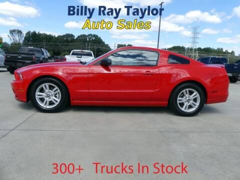 2014 Ford Mustang for sale at Billy Ray Taylor Auto Sales in Cullman AL