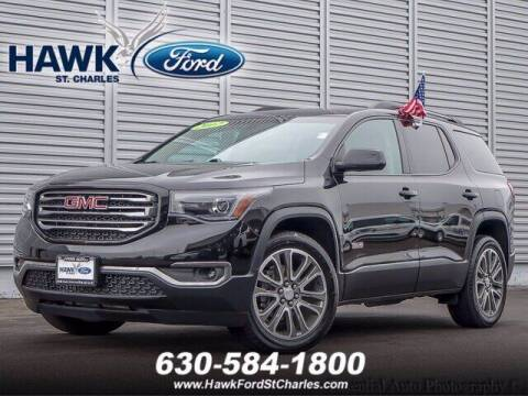 2017 GMC Acadia for sale at Hawk Ford of St. Charles in St Charles IL