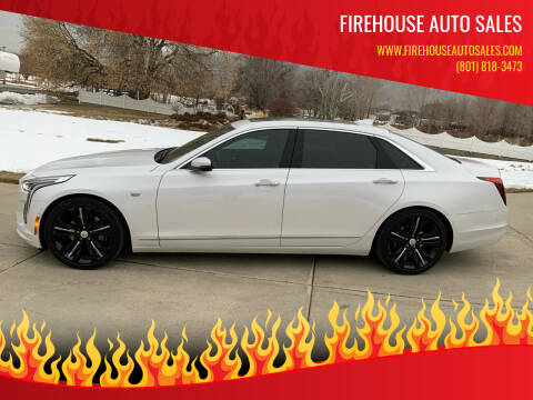 2019 Cadillac CT6 for sale at Firehouse Auto Sales in Springville UT