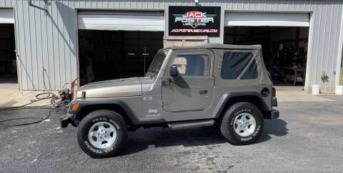 2003 Jeep Wrangler for sale at Jack Foster Used Cars LLC in Honea Path SC