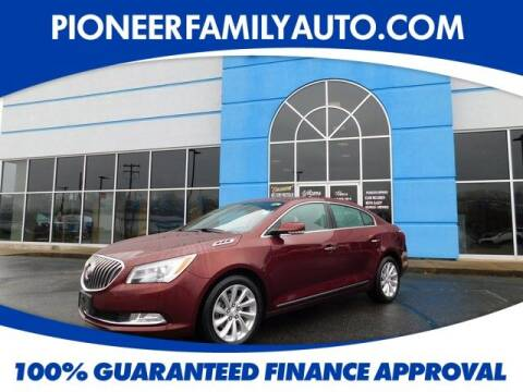 2016 Buick LaCrosse for sale at Pioneer Family auto in Marietta OH
