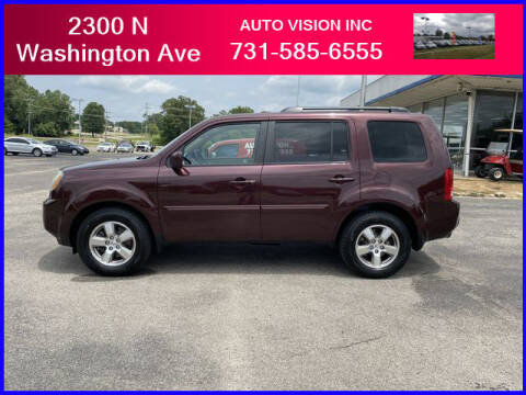 2011 Honda Pilot for sale at Auto Vision Inc. in Brownsville TN