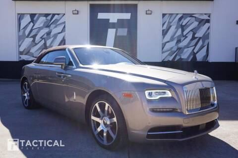 2016 Rolls-Royce Dawn for sale at Tactical Fleet in Addison TX