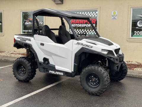 2019 Polaris General 1000 W/ Dump Bed for sale at Harper Motorsports-Powersports in Post Falls ID
