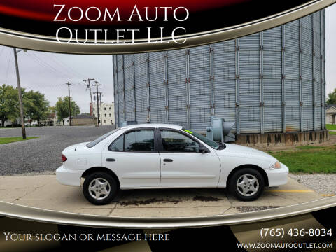 2002 Chevrolet Cavalier for sale at Zoom Auto Outlet LLC in Thorntown IN