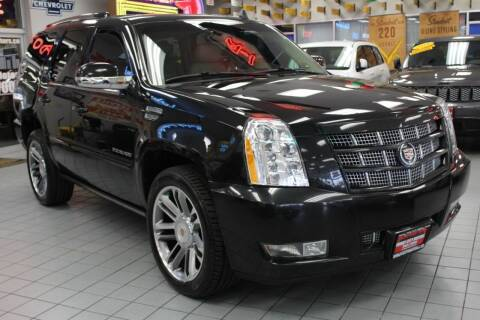 2013 Cadillac Escalade for sale at Windy City Motors in Chicago IL