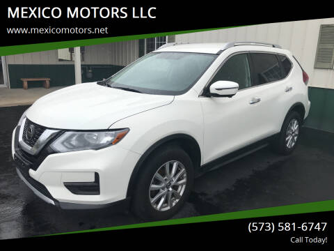 2018 Nissan Rogue for sale at MEXICO MOTORS LLC in Mexico MO