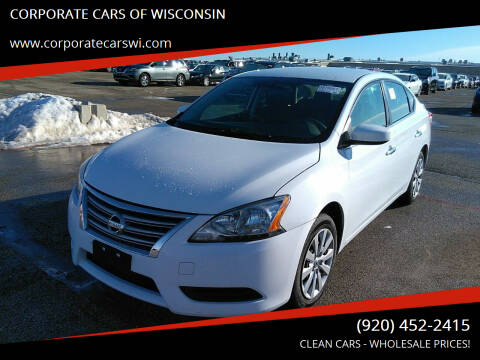 2015 Nissan Sentra for sale at CORPORATE CARS OF WISCONSIN in Sheboygan WI