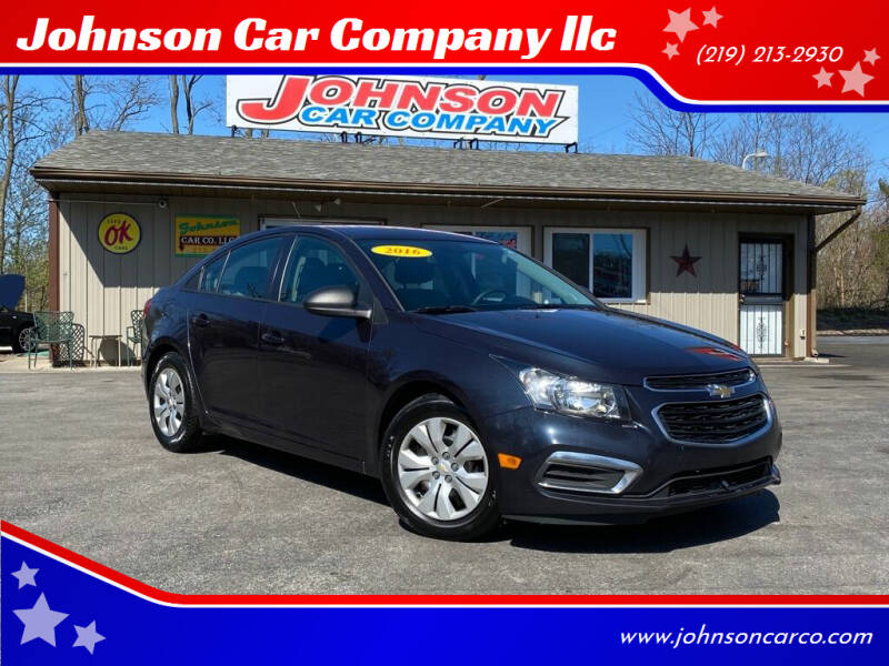 2016 Chevrolet Cruze Limited for sale at Johnson Car Company llc in Crown Point IN