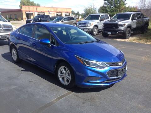2018 Chevrolet Cruze for sale at Bruns & Sons Auto in Plover WI