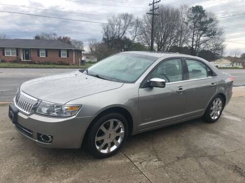 2009 Lincoln MKZ for sale at E Motors LLC in Anderson SC