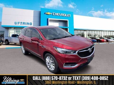 2018 Buick Enclave for sale at Gary Uftring's Used Car Outlet in Washington IL