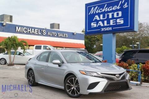 2020 Toyota Camry for sale at Michael's Auto Sales Corp in Hollywood FL