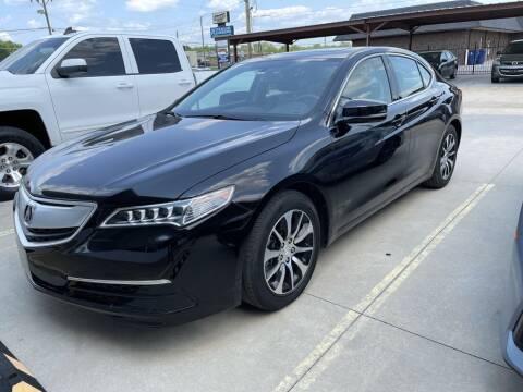2017 Acura TLX for sale at Kansas Auto Sales in Wichita KS