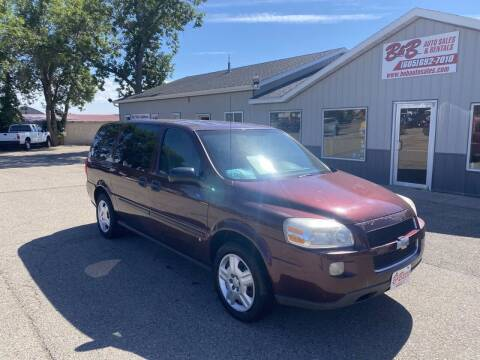 2008 Chevrolet Uplander for sale at B & B Auto Sales in Brookings SD