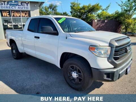2014 Toyota Tundra for sale at Stanley Automotive Finance Enterprise - STANLEY DIRECT AUTO in Mesquite TX