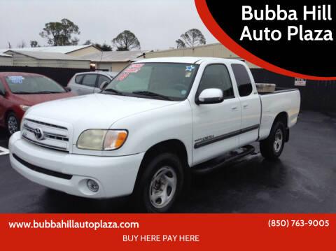 2003 Toyota Tundra for sale at Bubba Hill Auto Plaza in Panama City FL