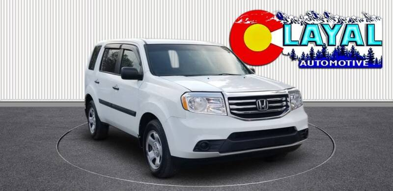 2012 Honda Pilot for sale at Layal Automotive in Englewood CO