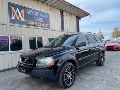 2005 Volvo XC90 for sale at M & A Affordable Cars in Vancouver WA