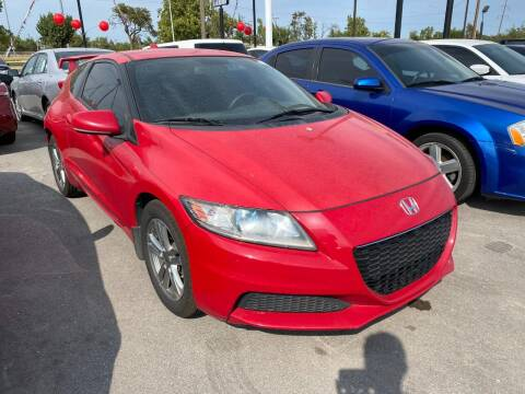 2013 Honda CR-Z for sale at Auto Solutions in Warr Acres OK