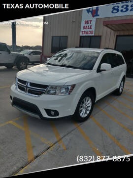 2016 Dodge Journey for sale at TEXAS AUTOMOBILE in Houston TX