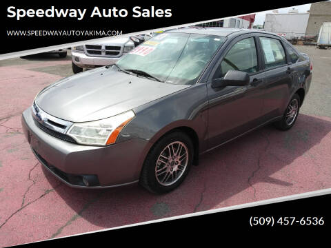 2010 Ford Focus for sale at Speedway Auto Sales in Yakima WA