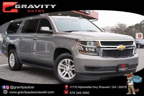 2018 Chevrolet Suburban for sale at Gravity Autos Roswell in Roswell GA