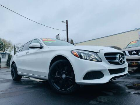 2015 Mercedes-Benz C-Class for sale at Alpha AutoSports in Roseville CA