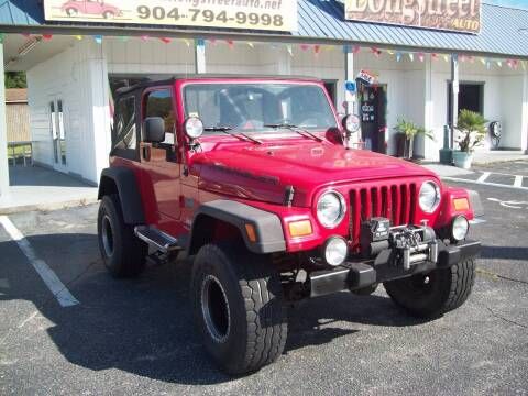 2005 Jeep Wrangler for sale at LONGSTREET AUTO in Saint Augustine FL