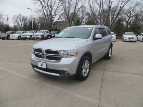 2013 Dodge Durango for sale at Aztec Motors in Des Moines IA