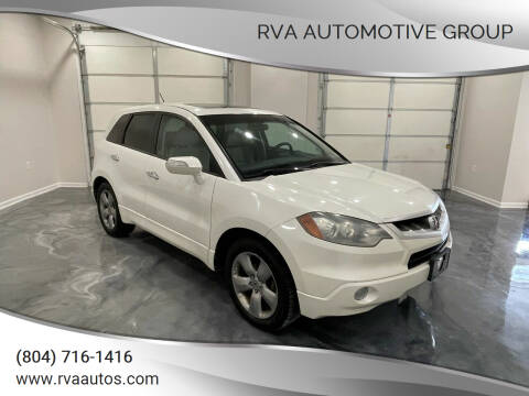 2007 Acura RDX for sale at RVA Automotive Group in North Chesterfield VA