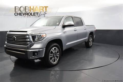 2018 Toyota Tundra for sale at BOB HART CHEVROLET in Vinita OK