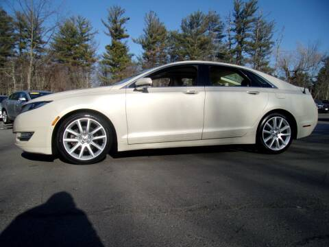 2014 Lincoln MKZ for sale at Mark's Discount Truck & Auto Sales in Londonderry NH