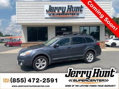 2014 Subaru Outback for sale at Jerry Hunt Supercenter in Lexington NC