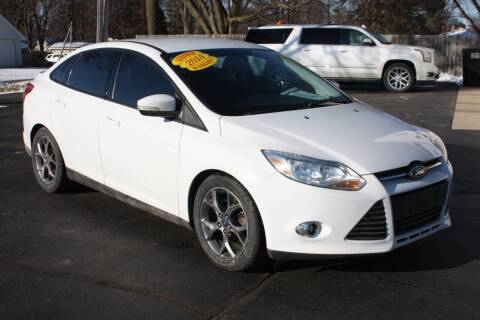 2014 Ford Focus for sale at LJ Motors in Jackson MI