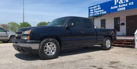 2007 Chevrolet Silverado 1500 Classic for sale at P & A AUTO SALES in Houston TX