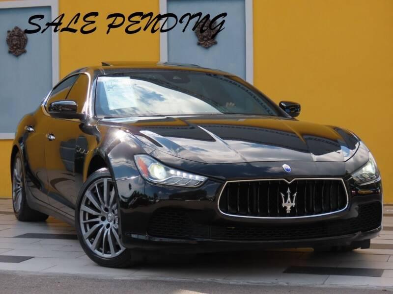 2017 Maserati Ghibli for sale at Paradise Motor Sports LLC in Lexington KY