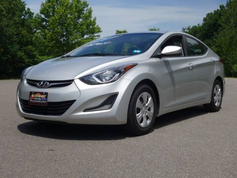 2016 Hyundai Elantra for sale at Auto Mart in Derry NH