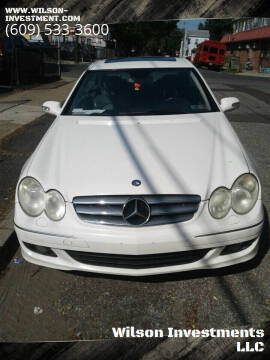 2006 Mercedes-Benz CLK for sale at Wilson Investments LLC in Ewing NJ