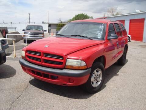 2001 Dodge Durango for sale at One Community Auto LLC in Albuquerque NM