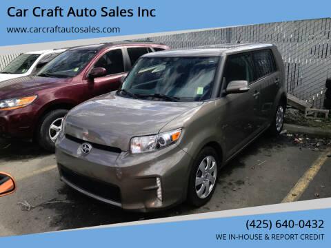2015 Scion xB for sale at Car Craft Auto Sales Inc in Lynnwood WA