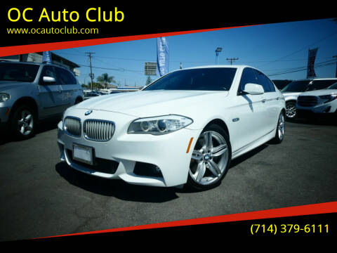 2012 BMW 5 Series for sale at OC Auto Club in Midway City CA