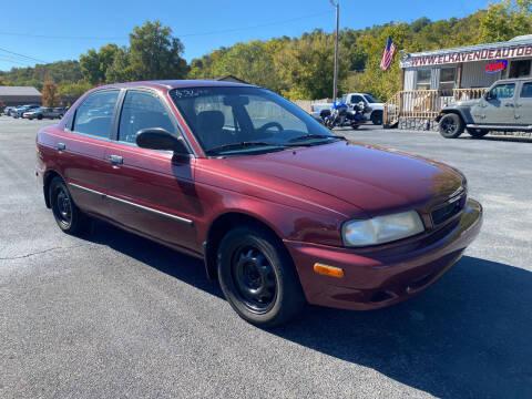 1998 Suzuki Esteem for sale at Elk Avenue Auto Brokers in Elizabethton TN