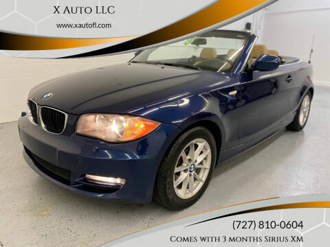 2011 BMW 1 Series for sale at X Auto LLC in Pinellas Park FL