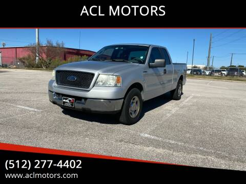 2005 Ford F-150 for sale at ACL MOTORS in Austin TX