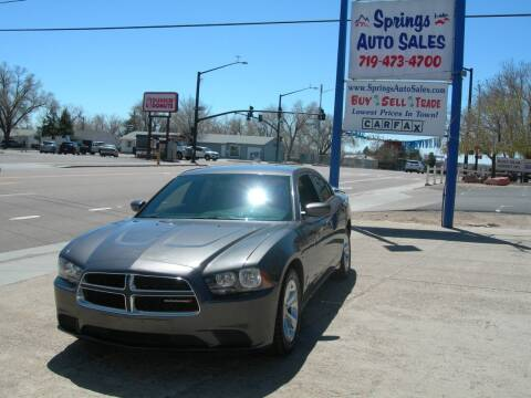 2014 Dodge Charger for sale at Springs Auto Sales in Colorado Springs CO