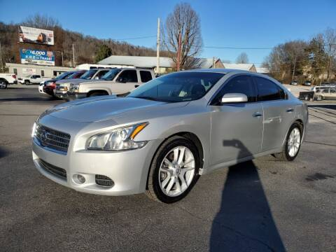 2011 Nissan Maxima for sale at MCMANUS AUTO SALES in Knoxville TN